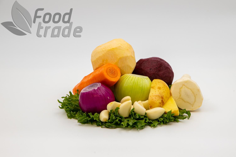 Kooritud köögiviljad